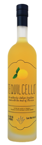 TEQUILCELLO TEQUILA AND LEMONCELLO