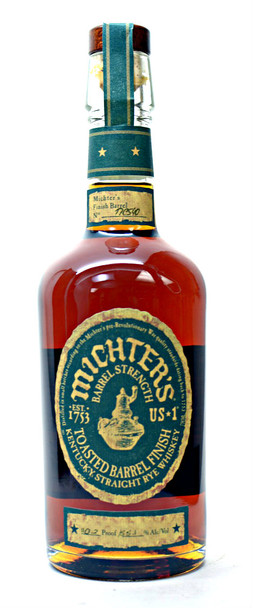 Michter's  Toasted Barrel Finish Kentucky Straight Rye Whiskey