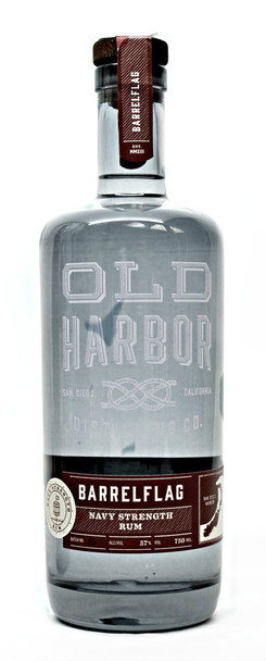 Old Harbor Barrelflag  Navy Strength Rum