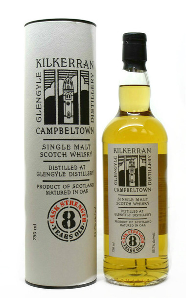 Kilkerran Single Malt 8yr Cast strength