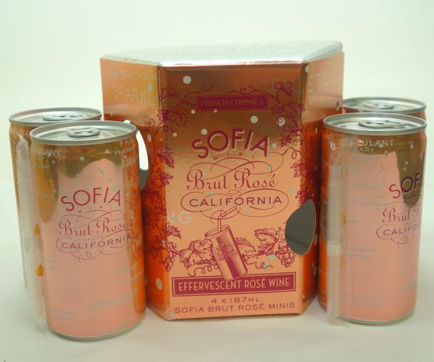 Sofia Brut Rosé 4 pk 187ml