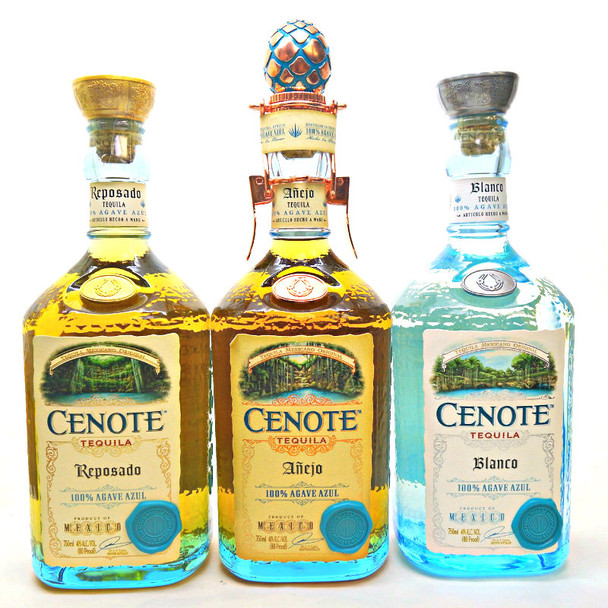 CENOTE TEQUILA SET