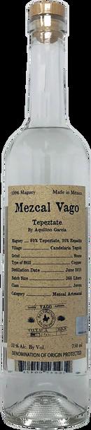 Mezcal Vago Tepeztate by Aquilino Garcia