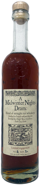 High West A Midwinter Nights Dram