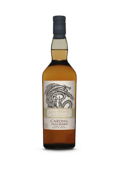 Cardhu House Targaryen Gold Reserve Scotch