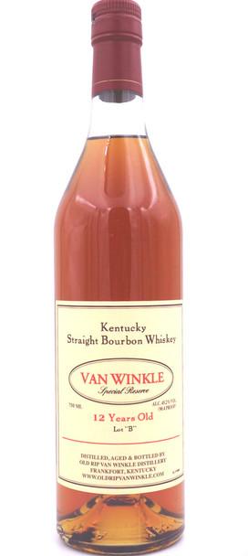 Pappy Van Winkle 12 Years Lot B Bourbon Whiskey