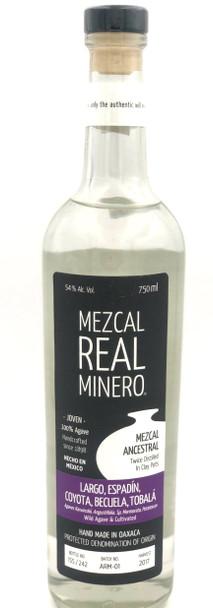 Real Minero Largo Espadin Coyota Becuela & Tobala Mezcal