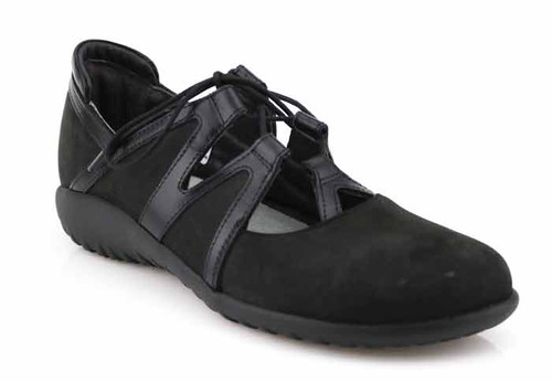 naot timu black shoe