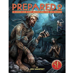 Prepared 2: Tombs & Dooms 5th Edition (PREORDER)