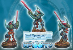 Infinity: Combined Army - Void Operators (HMG)