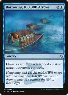 Borrowing 100,000 Arrows: Common #045 - Masters 25