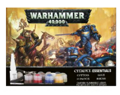 Warhammer 40K: Essentials Paint Set (OPEN-BOX)