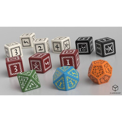 Forbidden Lands RPG: Custom Dice Set (12ct) (PREORDER)