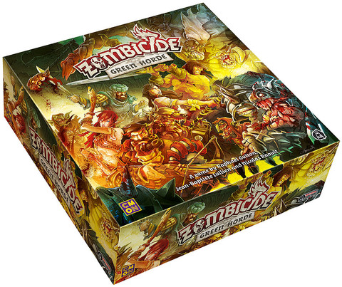 Zombicide: Green Horde (ADD TO CART TO SEE PRICE)