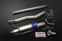 Tomei Expreme Ti Cat Back Exhaust System - Mitsubishi Evo 7/8/9 Jap Spec