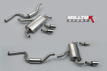 Milltek Turbo Back with Sports Cat Focus RS MK2 - EC Apporoved