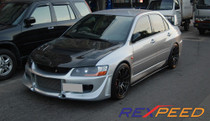 Rexpeed Carbon Side Skirt Extensions Evo 7-9
