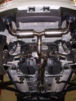 C-TEC Evo X Cat Back Exhaust R-Ti