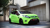 Maxton Designs FRONT BUMPER FORD FIESTA MK7 (FOCUS RS LOOK)