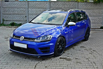 Maxton Designs SET OF SPLITTERS VW GOLF MK7 R ESTATE