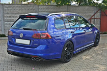 Maxton Designs REAR SIDE SPLITTERS VW GOLF MK7 R ESTATE
