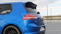 Maxton Designs SPOILER EXTENSION VW GOLF MK7 R