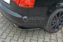 Maxton Designs REAR SIDE SPLITTERS AUDI A4 B7