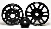 GFB BRZ/86/FR-S lightweight Non-Underdrive pulley kit(Crank, Alternator and Water Pump Pulleys)