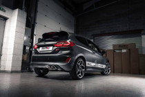 Milltek Fiesta ST Mk8 Cat Back Exhaust with Titanium GT-90 Trims