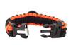 Black Tusk Survival Bracelet Large - Orange (PARL-OR)