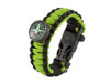 Black Tusk Survival Bracelet Large - Green (PARL-GR)