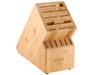 Kussi Bamboo Knife Block - 16 Slot (KBLOC11)