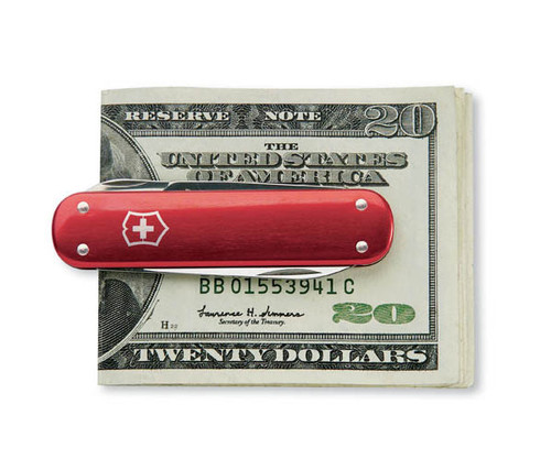 Victorinox Money Clip Red 53739 House Of Knives