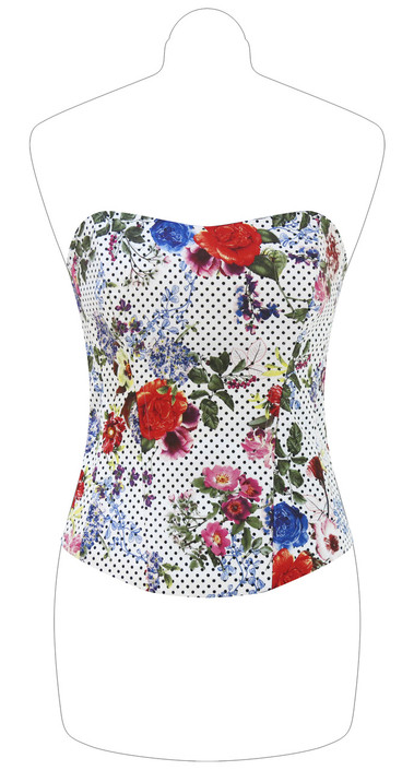 Floreal Dotted Corset
