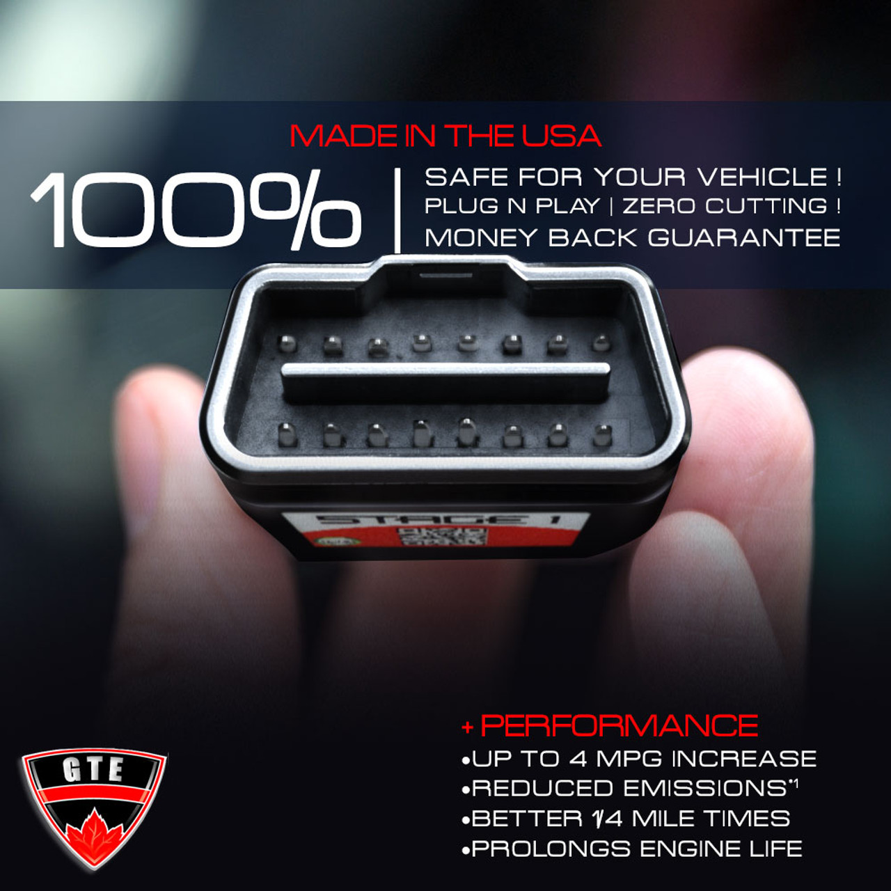 Stage 1 Performance Chip Module Obd2 For Bmw Performance