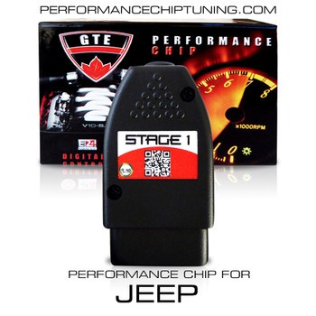 STAGE 1 PERFORMANCE CHIP MODULE OBD2 FOR JEEP