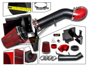 Cold Air Intake Kit for Chevrolet Silverado 1500/2500 HD (2001-2006) with 6.0L  V8 Engine