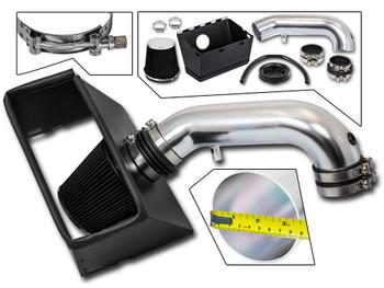 Black Cold Air Intake Kit for Dodge RAM 1500/2500/3500 (2009-2015) with 5.7L V8 Engine