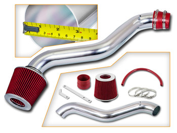 Red Ram Air Intake Kit for Honda Prelude (1997-2001) with 2.3L 4-Cylinder Engine
