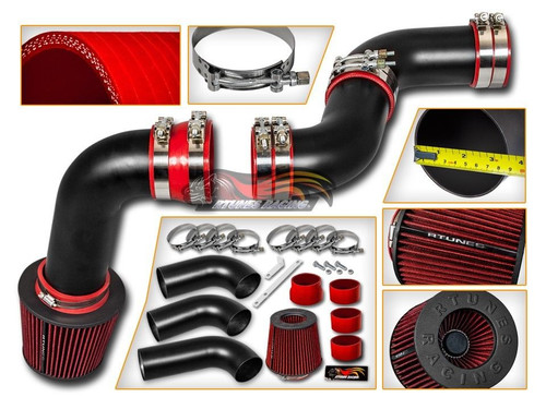 cold air intake kit for gmc sierra 1500 1999 2006 with 4 3l v6 engine performance chip tuning. Black Bedroom Furniture Sets. Home Design Ideas
