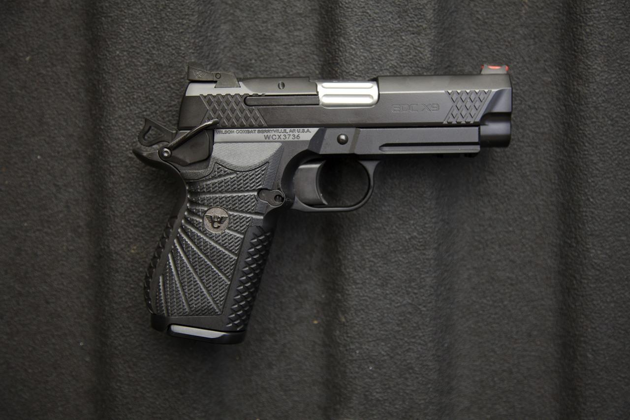 Wilson Combat EDC X9 w/ Large Backstrap & Long Trigger