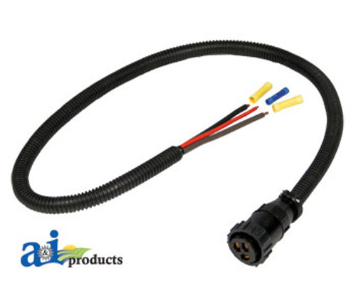 Are37651auxiliary Power Connector Kit 3 Pin Are37651. Auxiliary Power Connector Kit 3 Pin Are37651. John Deere. John Deere 466 Round Baler Wiring Harness At Scoala.co