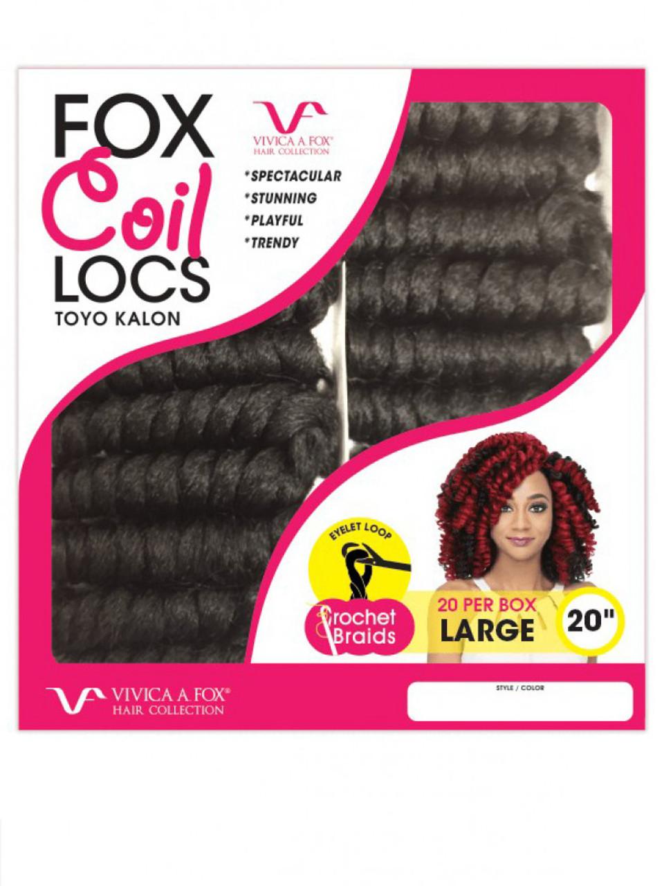 Fox Coil Loc Braid 20 Uptownwigs