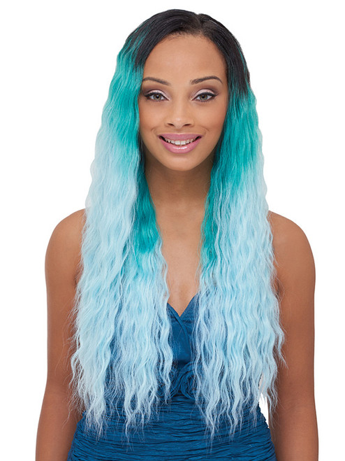 Natural Velvety 7pcs Pastel Synthetic Weave Extensions Uptownwigs