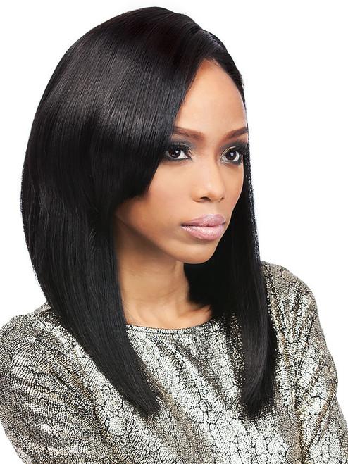 Velvet Brazilian Perm Yaki 16 Human Hair Weave Extensions Uptownwigs