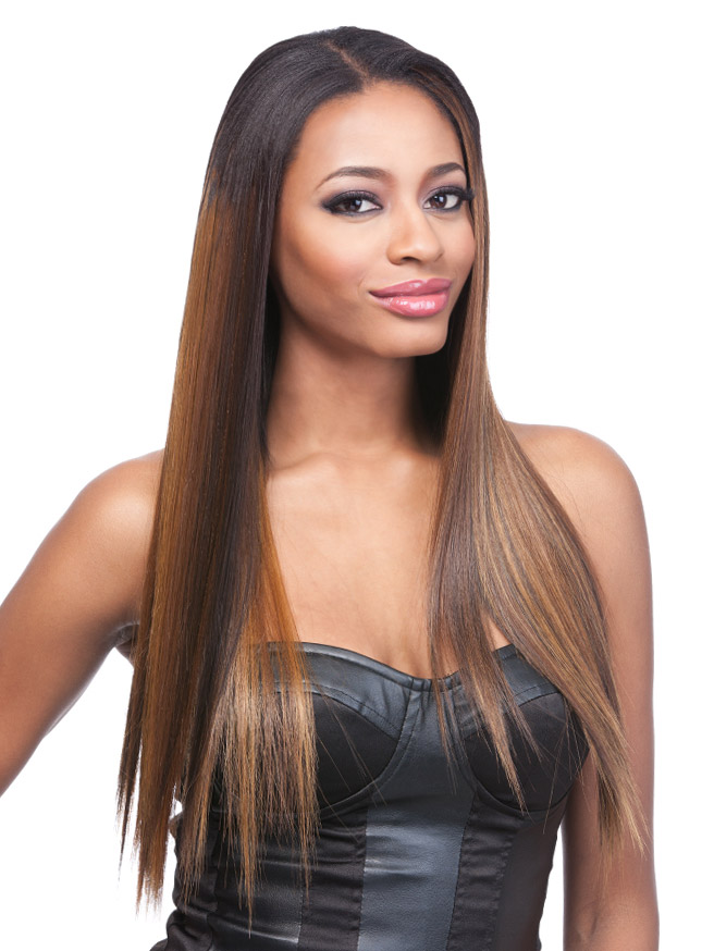 14 Yaki Straight Synthetic Clip On Extensions Uptownwigs