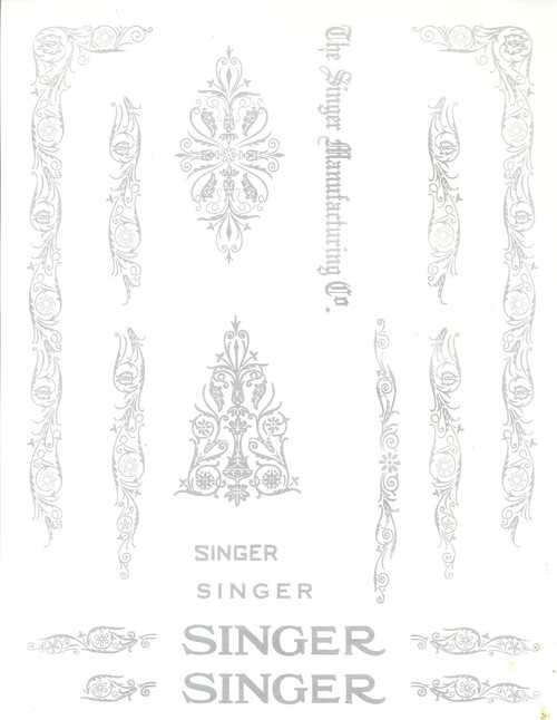 MANUAL FOR SINGER 99K - Auto Electrical Wiring Diagram