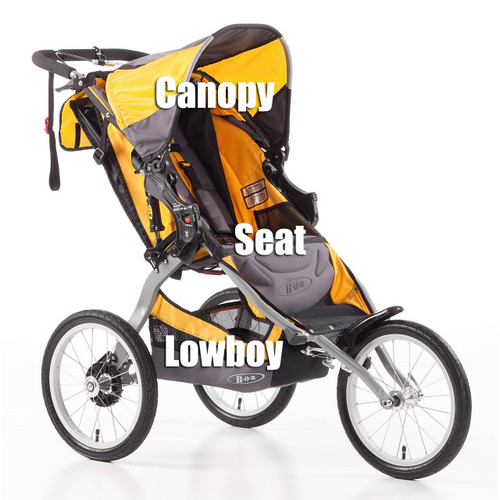 2011+ Ironman Stroller shown for reference only. LB0703 is actually for a 2007-2010 Ironman.
