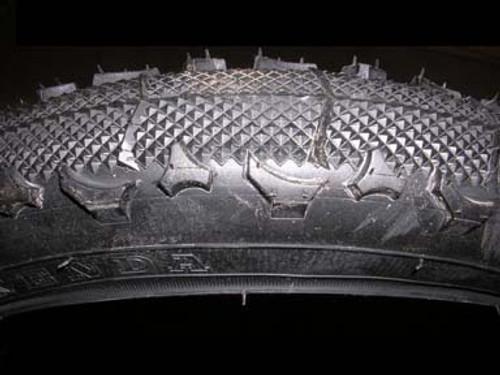 BOB Sport Utility Stroller Tire - Tread Pattern Close Up