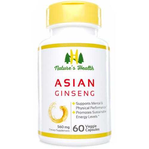 Asian Ginseng: Panax Ginseng
